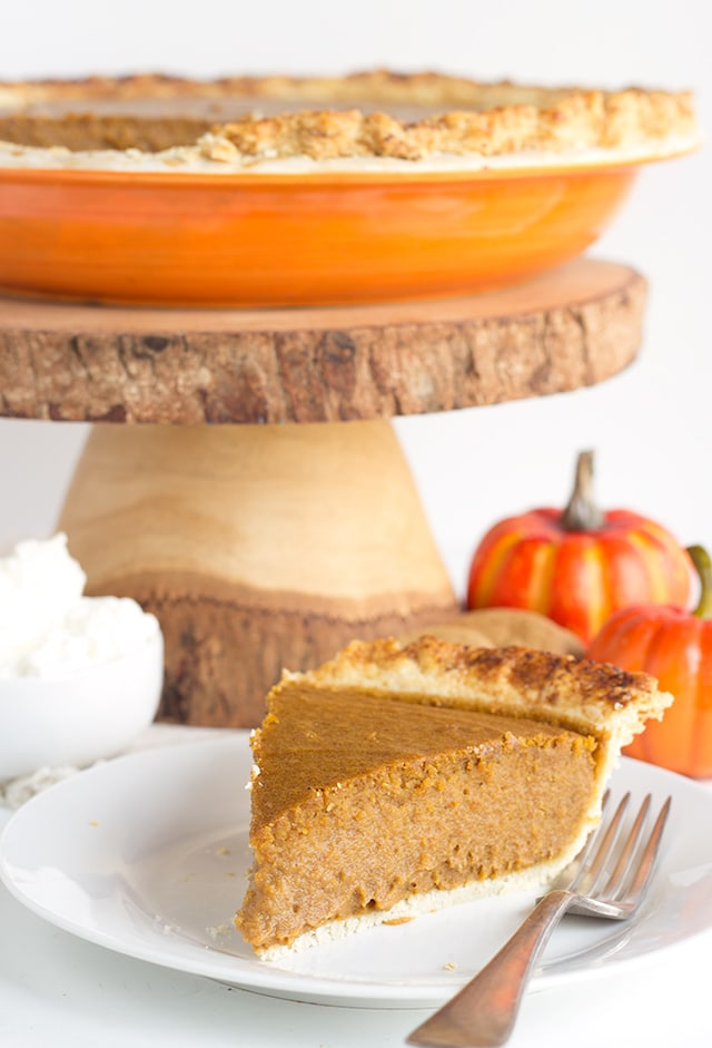Pumpkin Gingersnap Pie - A fun twist on pumpkin pie! It's infused with ...
