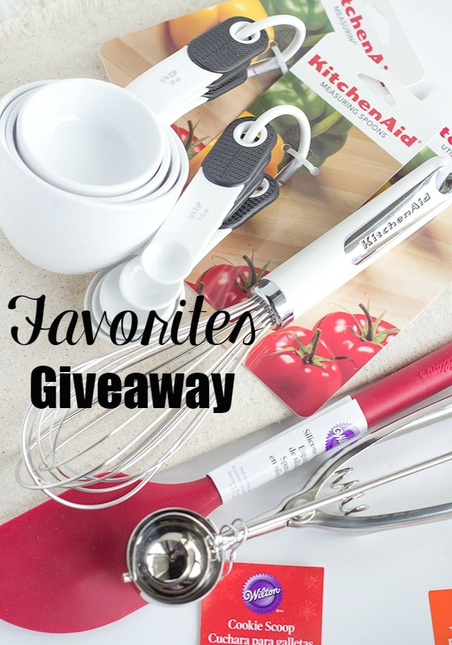 My Baking Favorites Giveaway!