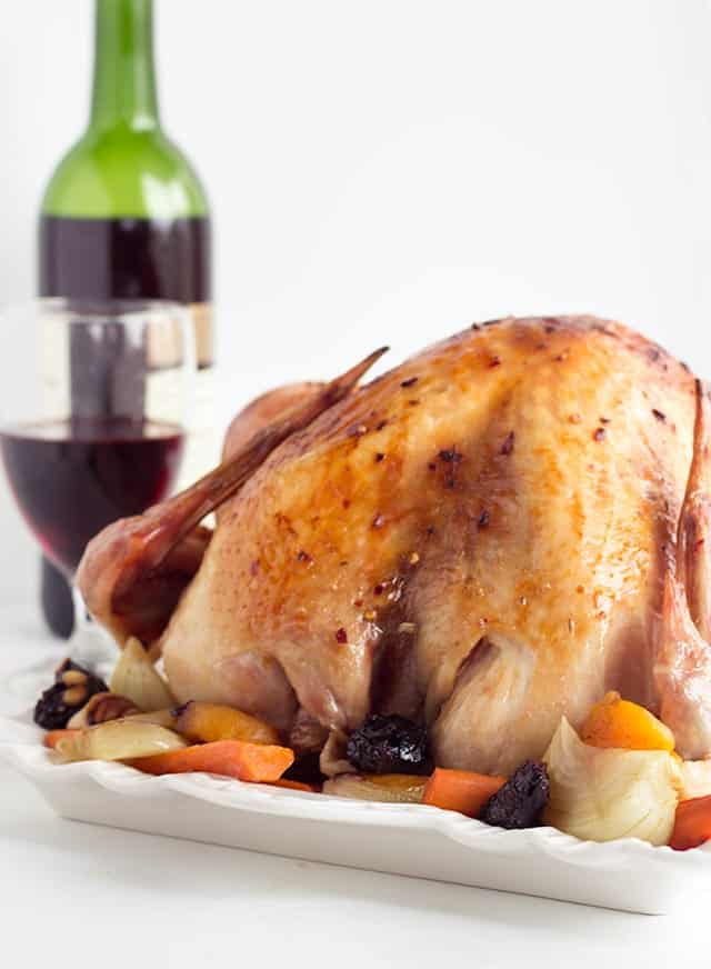 Spanish Spiced Turkey - Perfectly seasoned. It's spicy, sweet and full of flavor! This is the Thanksgiving bird for you!