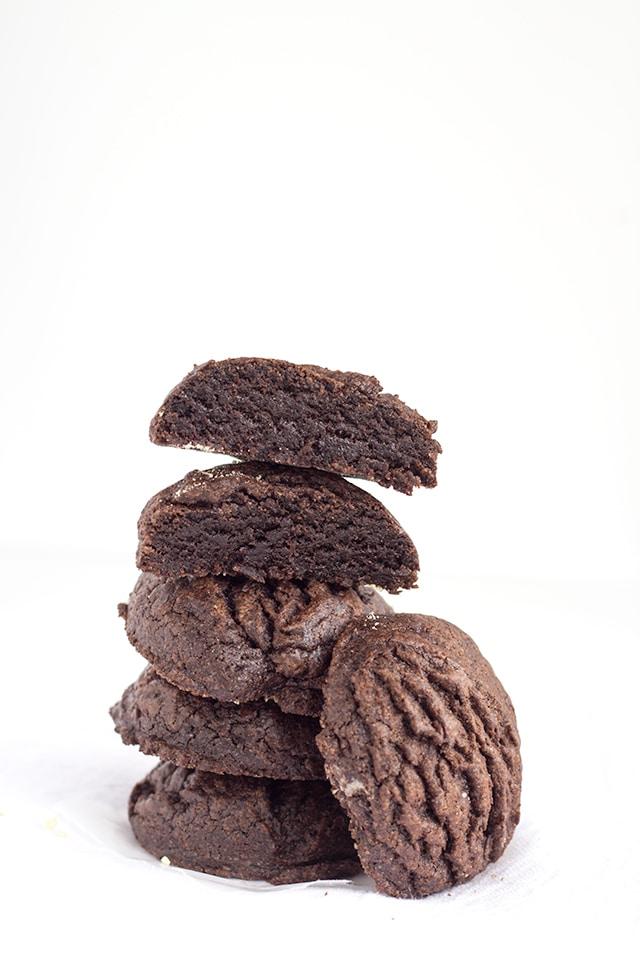 Chocolate Fudge Cookies -