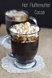 Hot Fluffernutter Cocoa