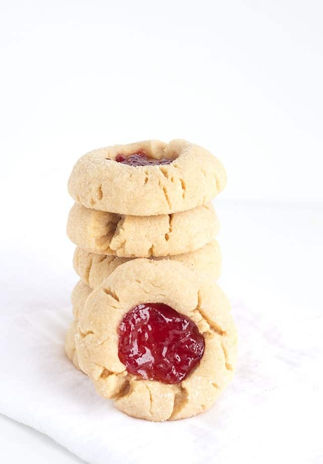 ... jelly fudge peanut butter and jelly thumbprints 100 healthy cookies