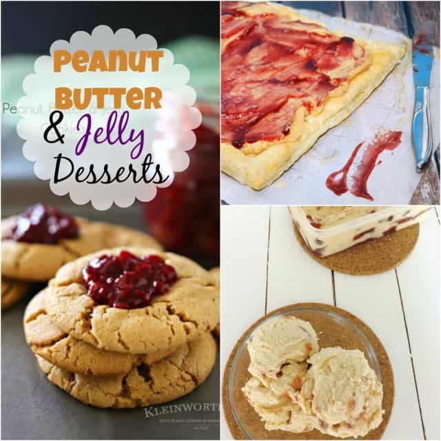 Peanut Butter & Jelly Desserts