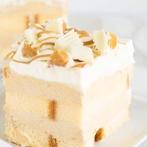No Bake White Chocolate Peanut Butter Dessert