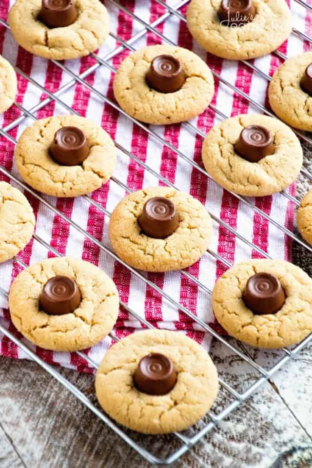 Rolo Peanut Butter Blossoms