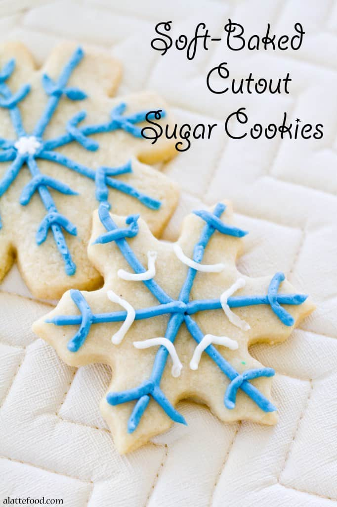 Soft-Baked Cutout Sugar Cookies
