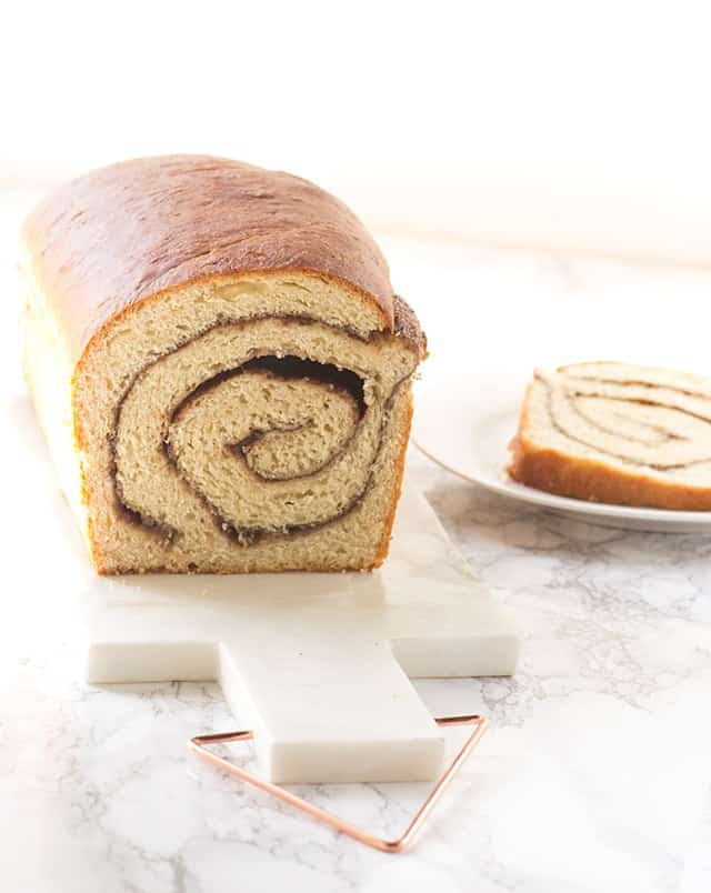 Homemade Cinnamon Swirl Bread - the perfect bread to toast up for breakfast!