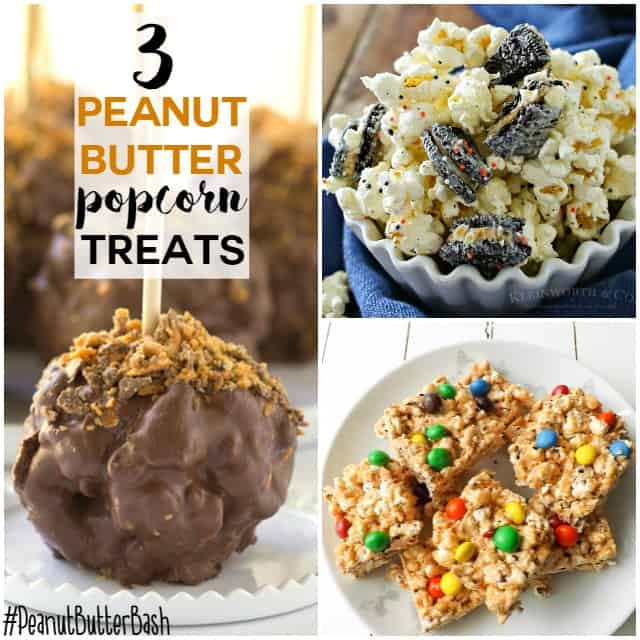 3 amazingly peanut butter popcorn treats that you need in your life!!