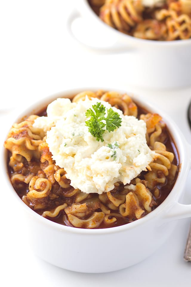 Spicy Lasagna Soup Recipe