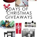 9 days of Christmas Giveaways