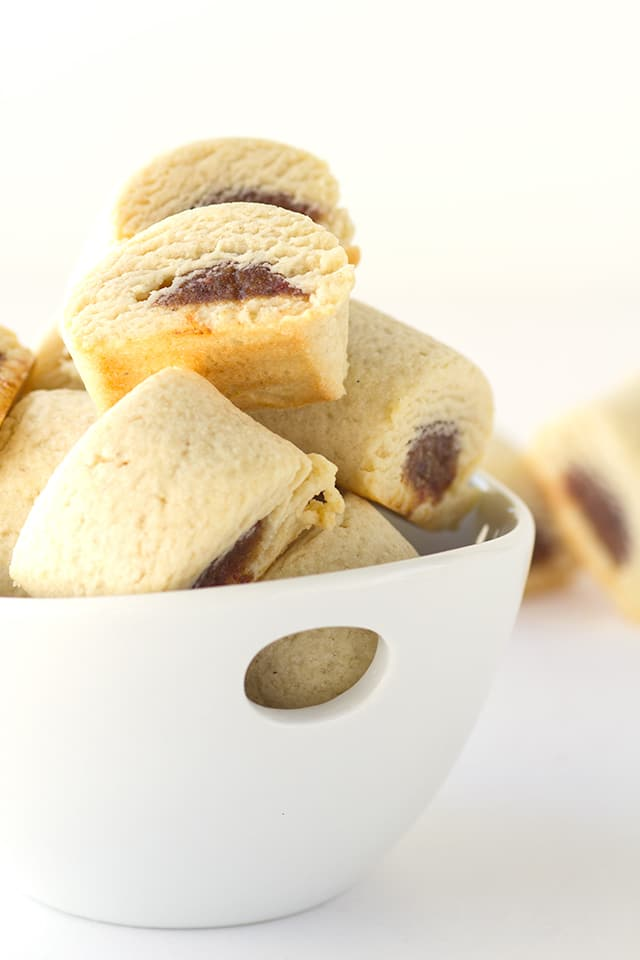 Date Filled Cookies - dates wrapped in a shortbread and sliced. They're simple yet amazing!